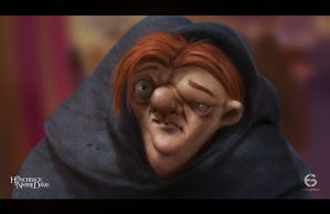 The Hunchback of Notre Dame by EdgarGomezArt