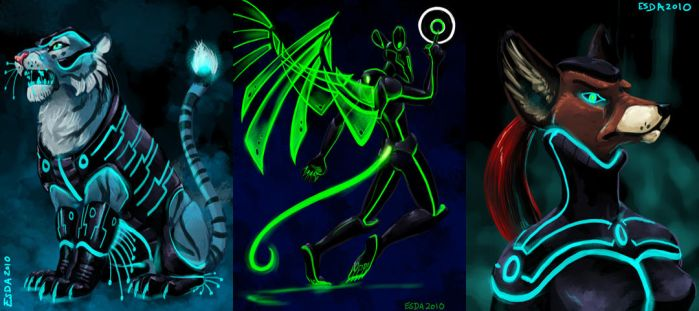 Tron Quickies3 by FablePaint