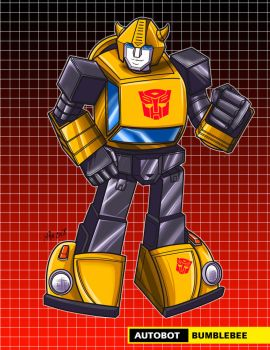 bumblebee g1 by Shayeragal