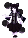 CheryL the Shadow Cupcake (Art Trade) by Applesauce006