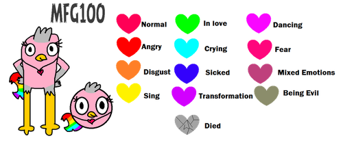 Rainbow's Color Changing Necklace chart by MixelFanGirl100