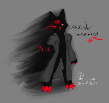 81 AlexanderGrimfang by ChrisSketch28
