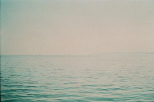 the lake was endless   it was summer by mehrmeer