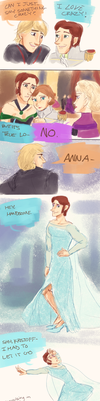 Frozen Actor!AU- Swapping Roles by maybelletea
