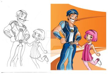 Lazy town GO by Chocolerian