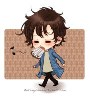 Sherlock with cigarettes by botanycameos