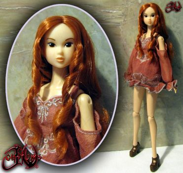 Yours Evermore Mina OOAK Doll by jvcustoms