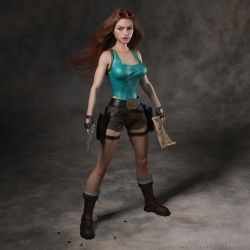 Classic Raider 176 by tombraider4ever
