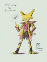 Aristotle the Alakazam