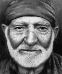 Willie Nelson by Doctor-Pencil