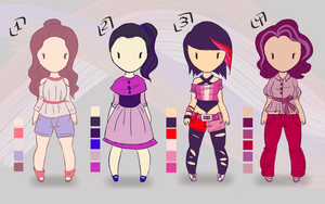 Character Adoptables #4 by Alyxander12