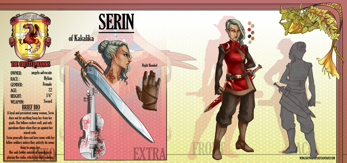 Serin - Profile Sheet by Angels-Advocate