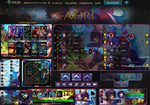 League Of Legends Hud Arcade Ahri by JoylockDesigner