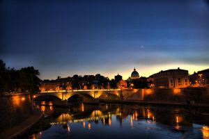 Ponte di S. Angelo 2 by weltenfeuer