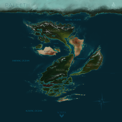 Official Palleth Map (Info is a WIP) by MrGremble