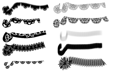 Kena MAKF Brush Set 1 (for Clip Studio) by kenamakf