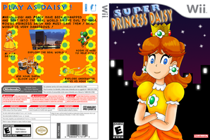 Super Princess Daisy by ZeFrenchM