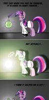 Twilight Sparkle makes friends by Skunkiss