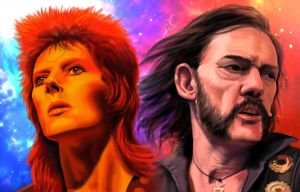 LEGENDS LEMMY AND BOWIE by DIOSCUROS87
