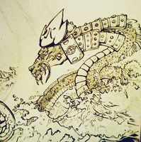 IG - Water Orochi by Ahkward