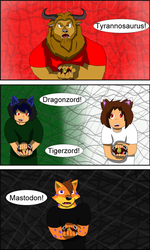 It's Morphin' Time! Part 1 by TheAnnonymousKat by BenBandicoot