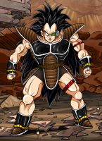 Dragonball Z - Raditz by TimothyJamesF