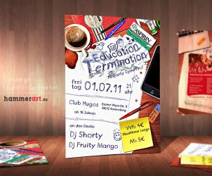 Education Termination - Flyer by razr-designs