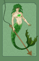 Commission: Ben The Merboy by TentacleWaitress