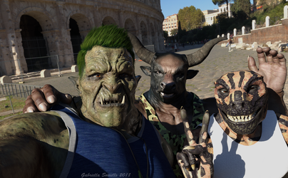 Rome With the Bros by galidor