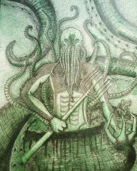 Cthulhu  by Catharsiscath