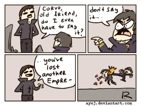 dishonored, doodles 59 by Ayej
