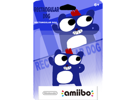 Rectangular Dog Amiibo by Waltman13