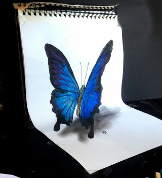 3d butterfly 2.0 (video link below) by Yakise