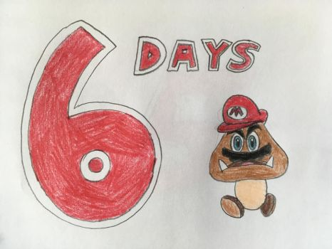 The Countdown to Super Mario Odyssey - 6 Days by AleMon1097