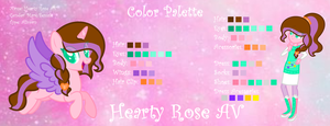 My New Color Palette by SparkleHeartyRose24