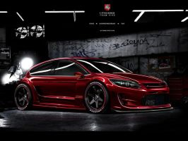 Ford Focus Coupe RS, WTB 2010 by evisdesign
