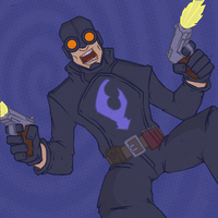SuperSaturday- Lobster Johnson by KahunaBlair