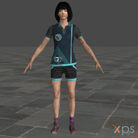 Dead By Daylight Feng Ming for XPS by SaltPowered