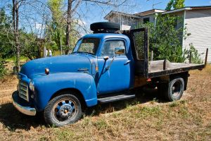 Blue Flatbed by quintmckown