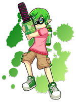 :C: Time To Splat! by TechnoGamerSpriter