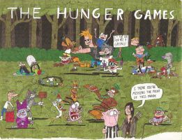 The Cartoon Network Hunger Games by greenth1ng