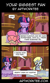 Your Biggest Fan by artwork-tee