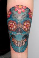 mexican skull... by graynd