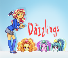 The Dazzlings (Heathers parody) by JumbleHorse