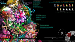 Desktop The Siren Song + RM by AngelicBond