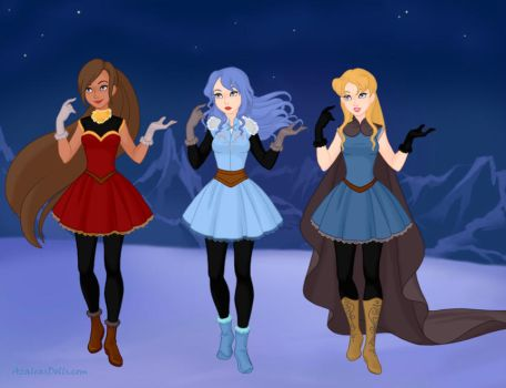Lovely ATA Winter Princesses by TheLuLu99