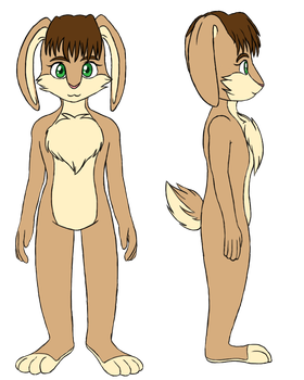 Fursona Reference by Lali-Lop
