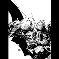AS Batman 05 Jim Lee INKS by JamesLeeStone