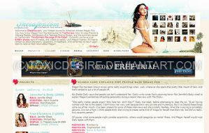 Megan Fox Layout II by toxicdesire