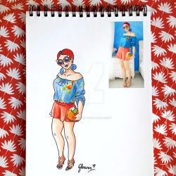 Look of the day 10/100 by Gloewen-Art